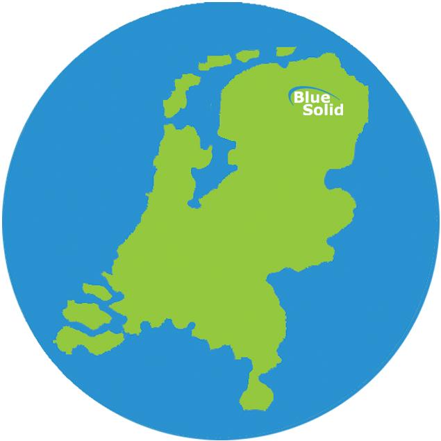 Levering door heel Nederland | BlueSolid