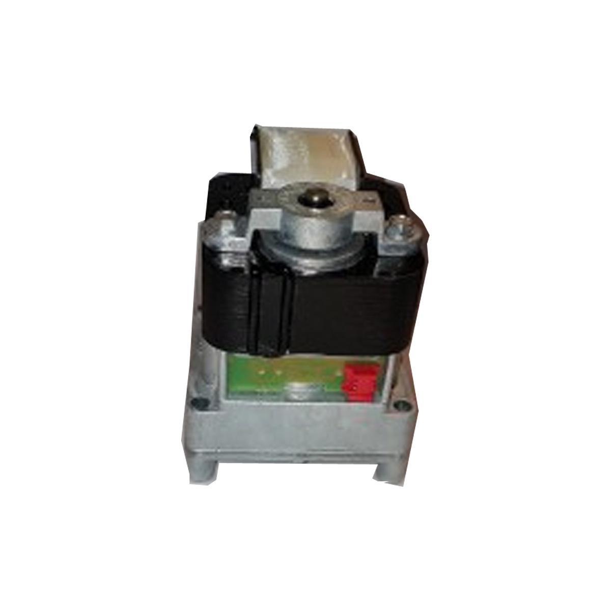 Pelletmotor met encoder