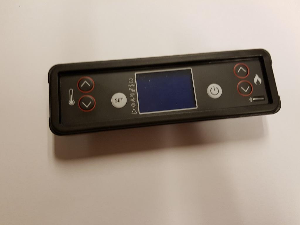 6 knops display voor de compact ketel Artel