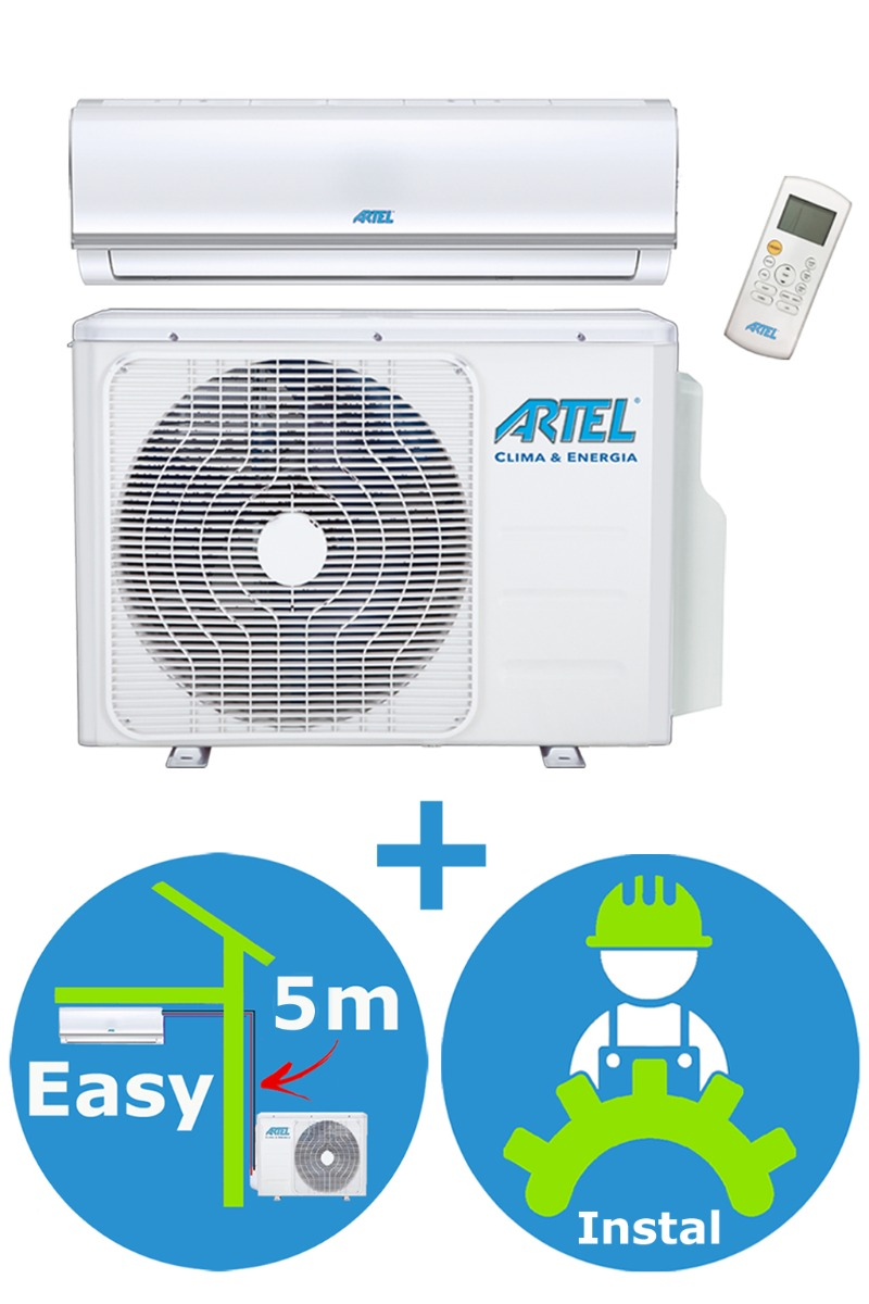 Airco split 1x 3.6kw / 12000btu + installatie