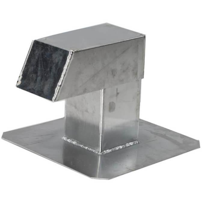 Plat dak doorvoer Airco/Warmtepomp