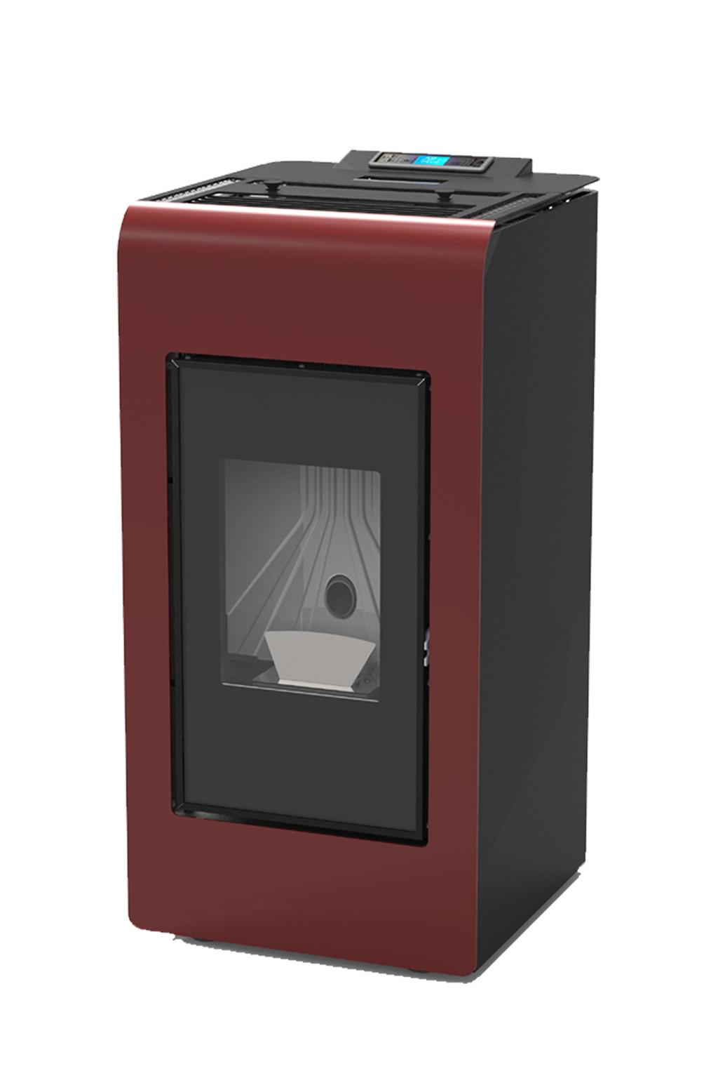 Cayenne Pro rood-8 kW - warmte voor 60m2