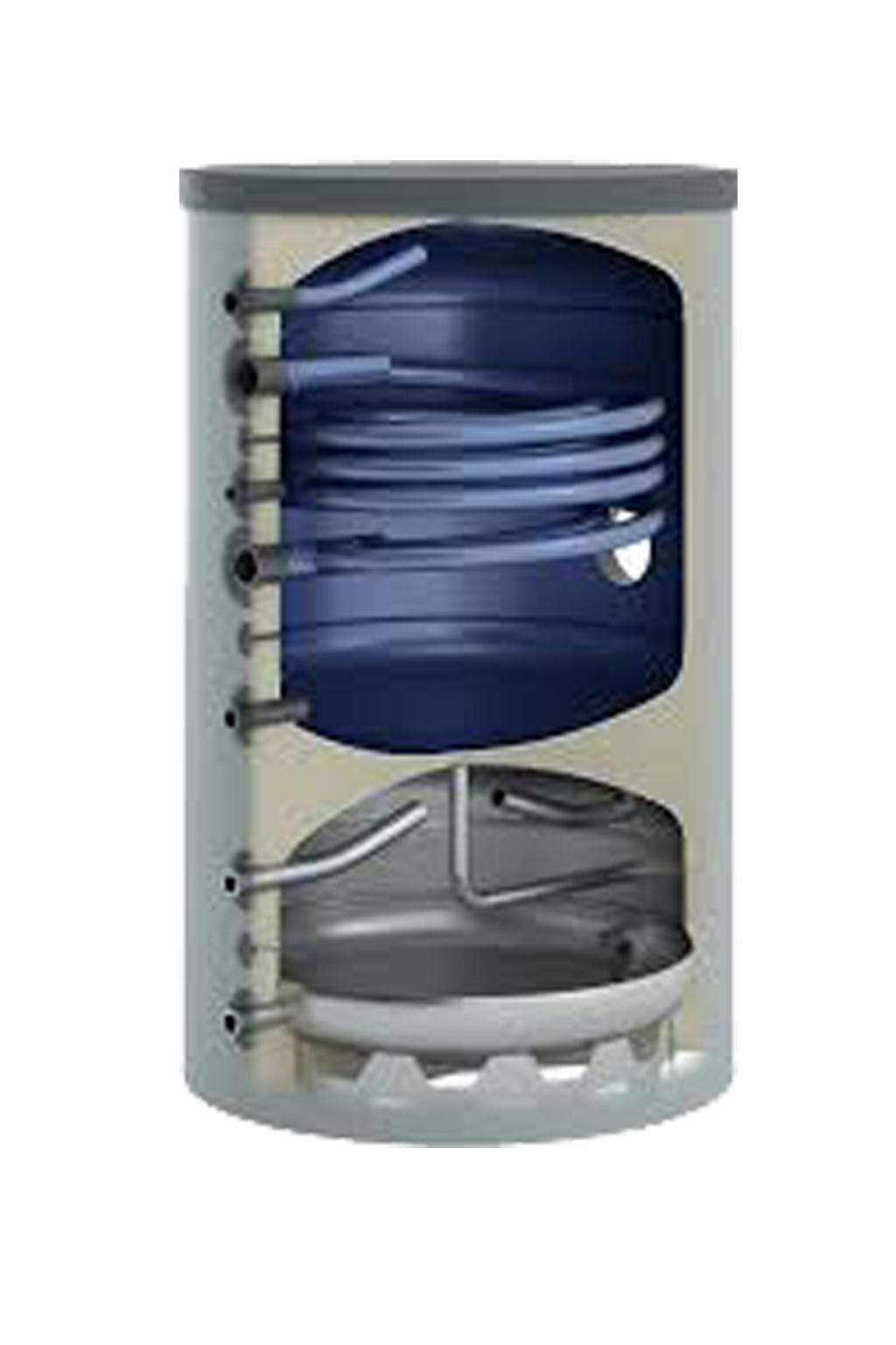 Combi boiler 500L / 2 warmtewisselaar