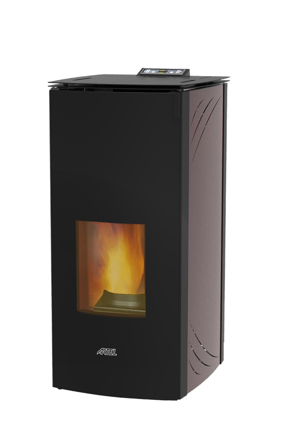 Glass CV 17 kW zwart