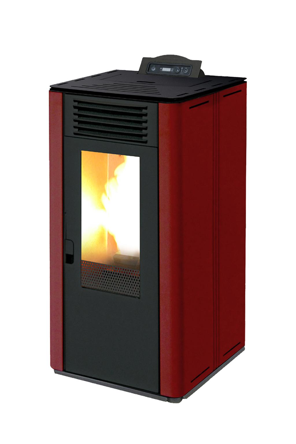 MilanoNext rood 8 kW