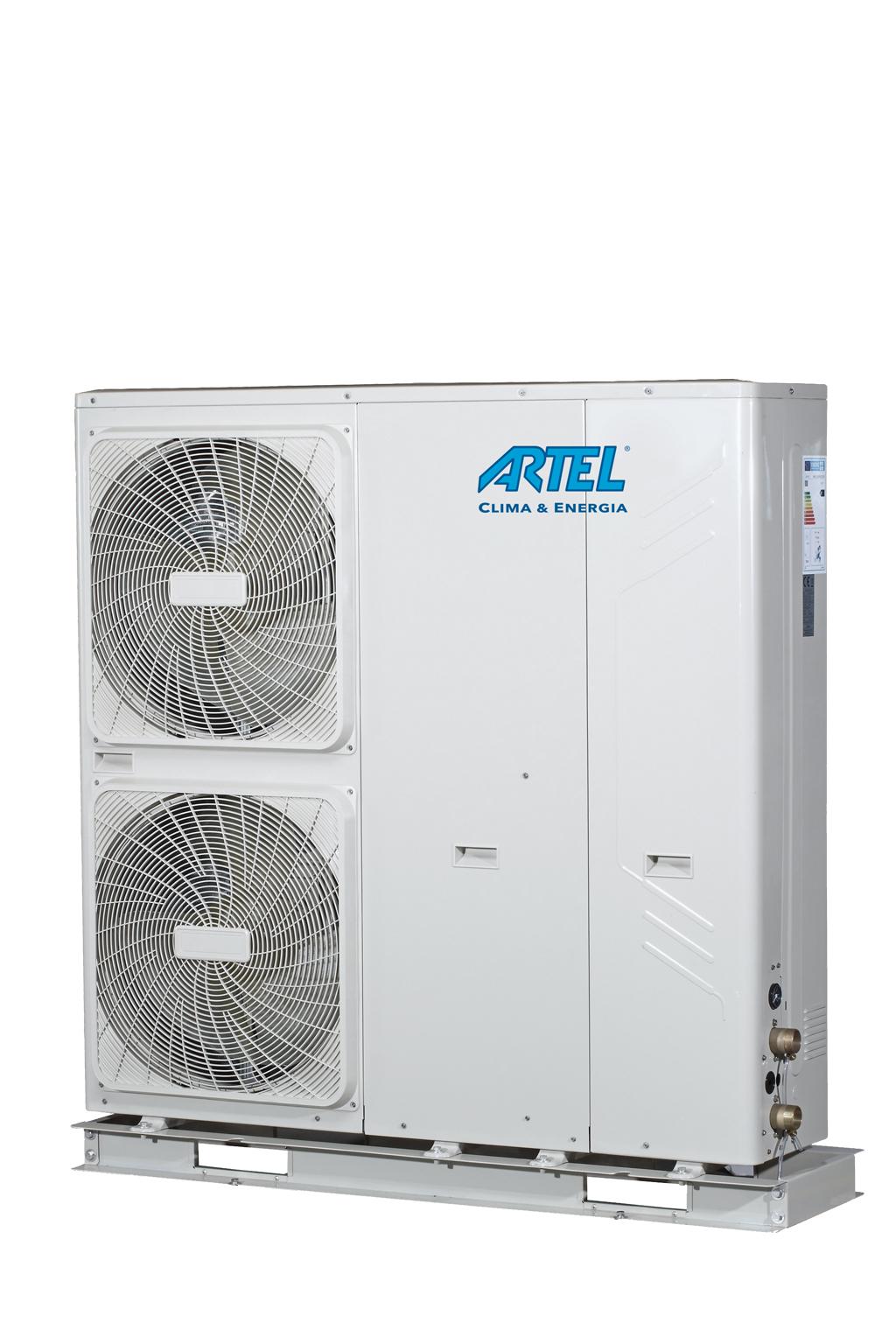 Warmtepomp Monoblock - 12 kW 1ph