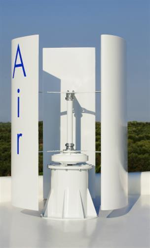 Wind turbine voor particulier gebruik