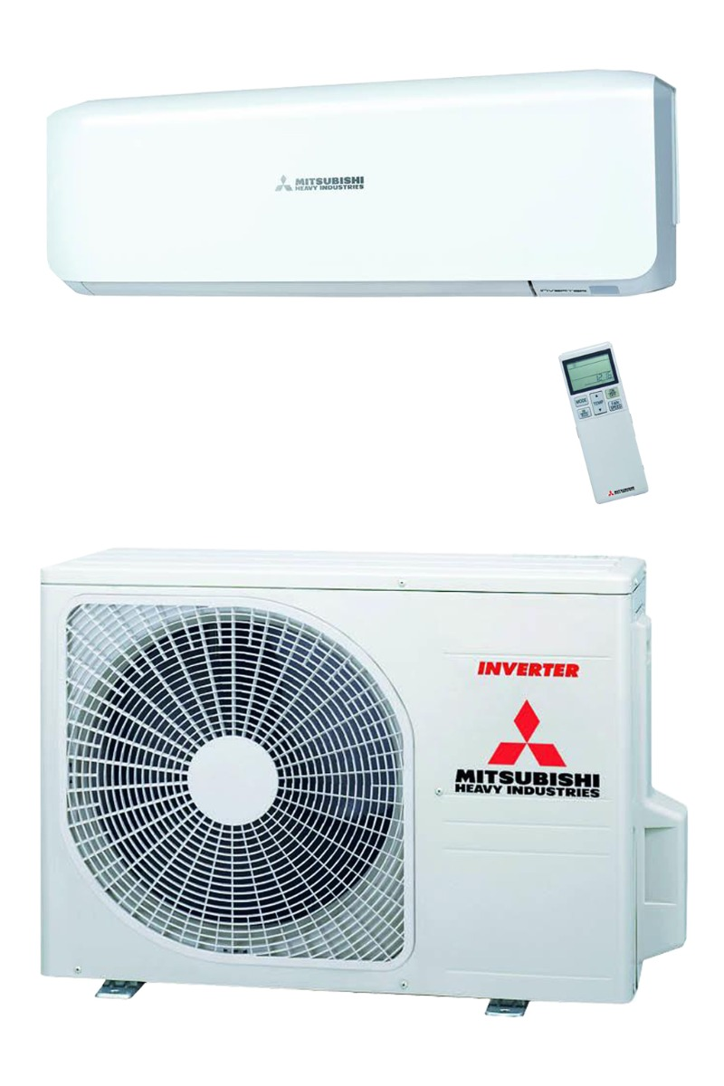 Mitsubishi airco (1x2.5Kw) + mat. Easy 5m + installatie