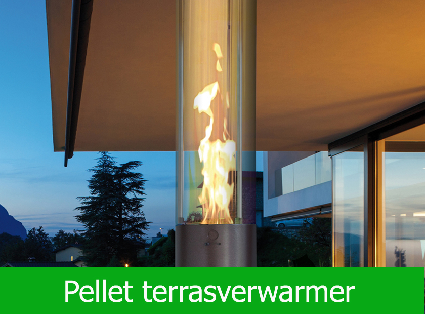Pellet terrasverwarmer ∅55cm