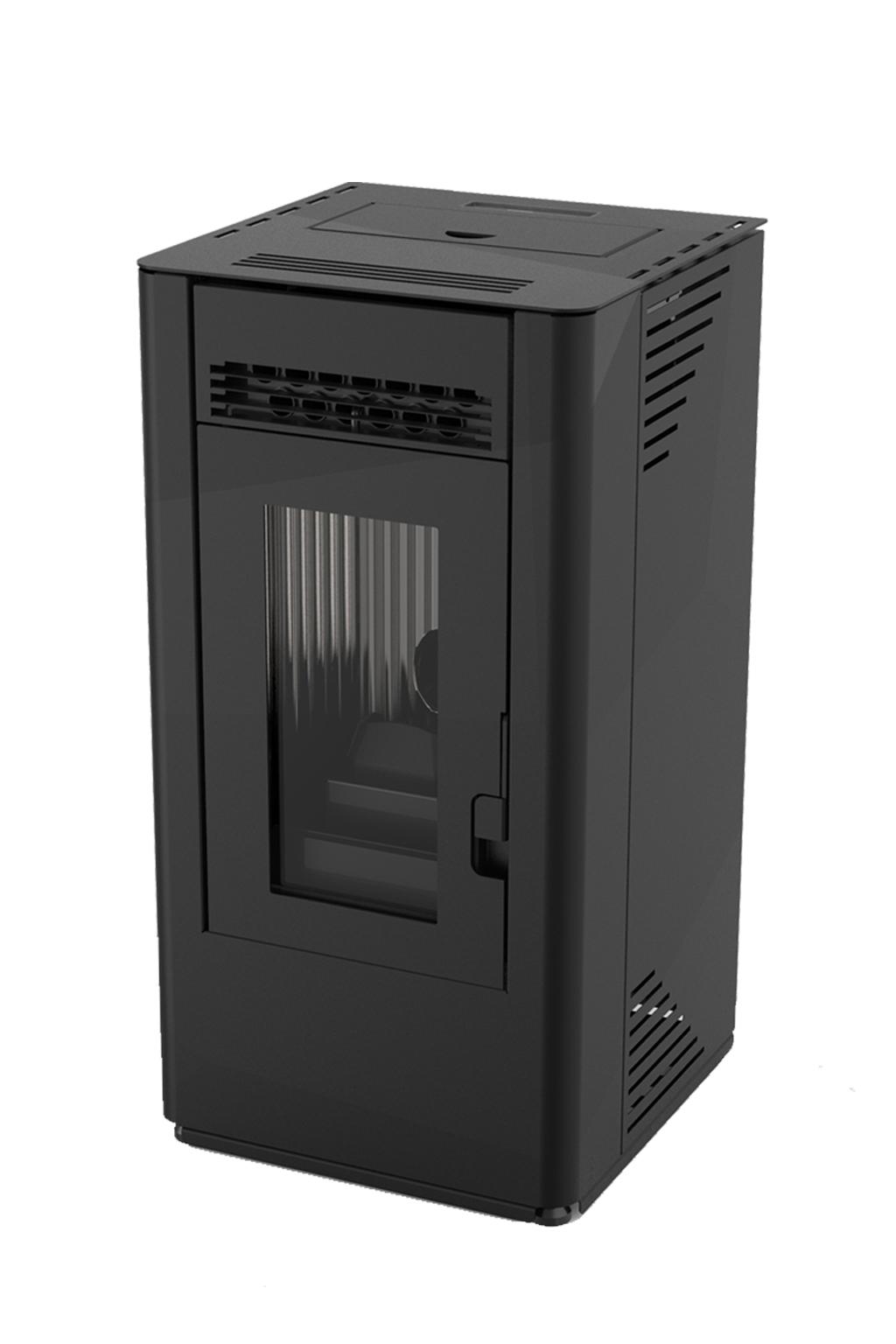 Italfuoco pelletkachel 8 kW zwart